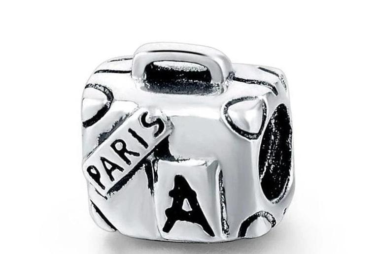 925 Sterling Silver Charms Beads - Travel Charm - Beads