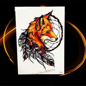 Africa Serengeti Lion Temporary tattoo designs - HHB358 - Temporary Tattoos