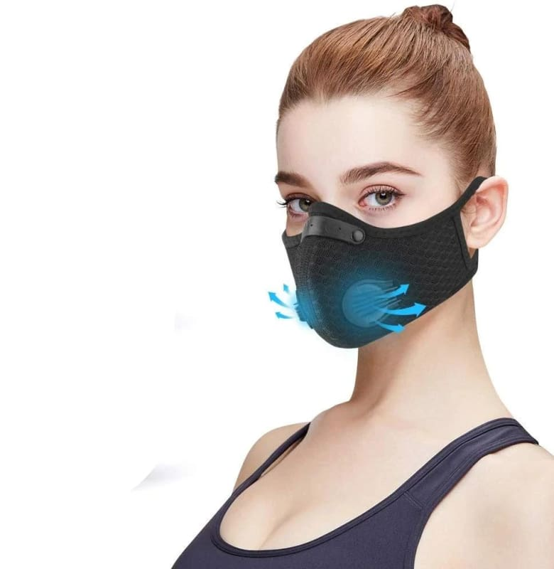 N95 Air Filter Mask Just For You - Blue - Filter Mask1