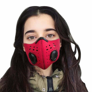 N95 Air Filter Mask Just For You - Red - Filter Mask1