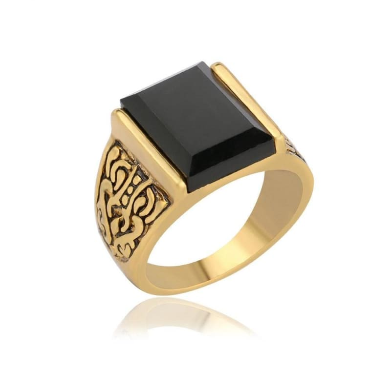 Amazing Charm Black Ring - Rings
