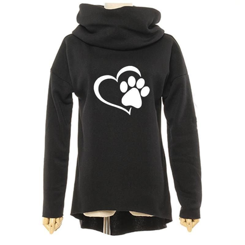 Amazing Heart Paw Sweatshirts - Hoodies & Sweatshirts