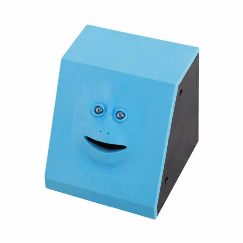 Amazing Hungry Robby piggy bank - Blue - Money Boxes