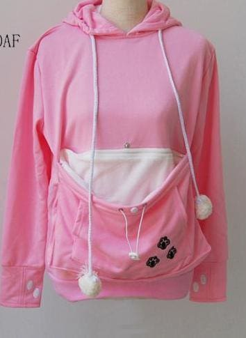 Amazing Pet Paw Pullovers - Pink / S - Hoodies & Sweatshirts