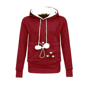 Amazing Pet Paw Pullovers - red / S - Hoodies & Sweatshirts
