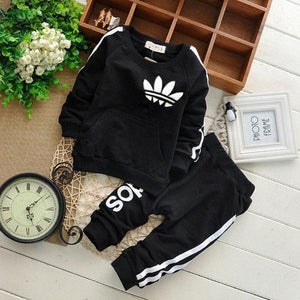 Amazing sporty Baby outfit - Black / 6M - Clothing Sets