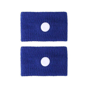 Anti Motion Sickness Wristband - Navy Blue - Wrist Support