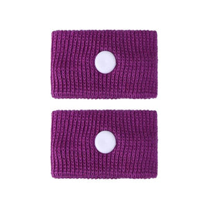 Anti Motion Sickness Wristband - Purple - Wrist Support