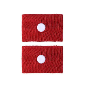 Anti Motion Sickness Wristband - Red - Wrist Support