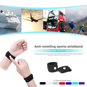 Anti Motion Sickness Wristband - Wrist Support