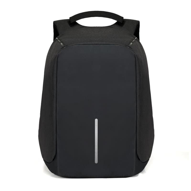 Anti Theft Laptop backpack Just For You - Black - Backpacks1