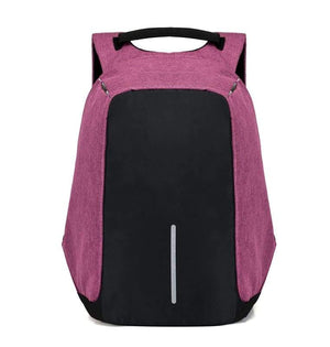Anti Theft Laptop backpack Just For You - pruple - Backpacks1