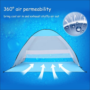 Anti-UV Popup Beach Tent - Tents