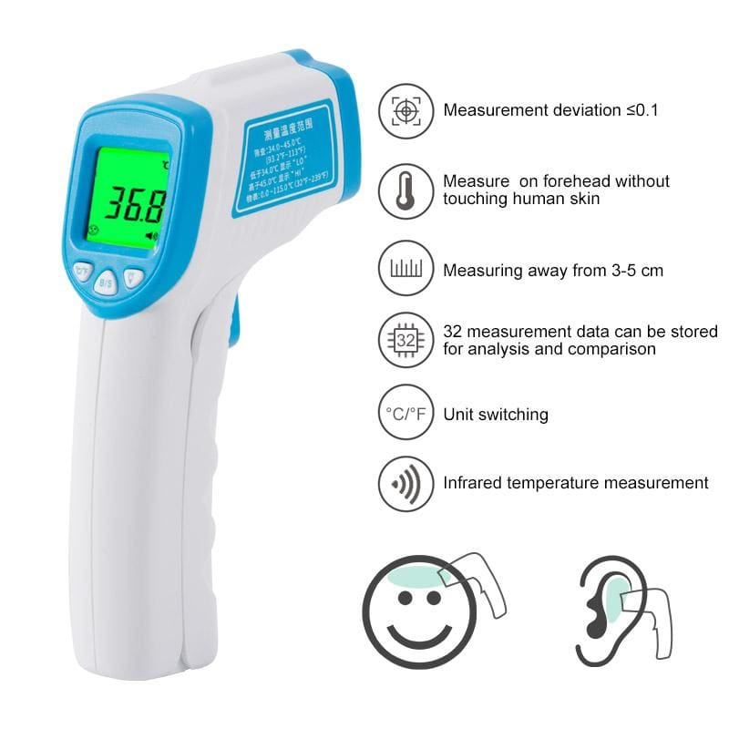 Baby Thermometer Infrared Digital - Temperature Instruments