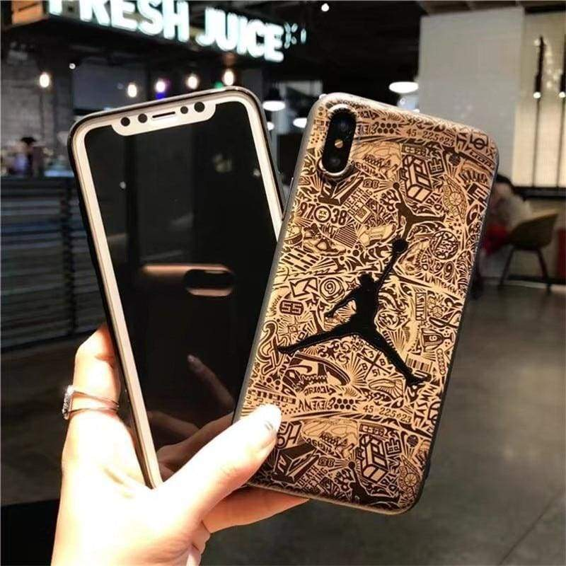 Basketball Cover for iPhone - Half-wrapped Case