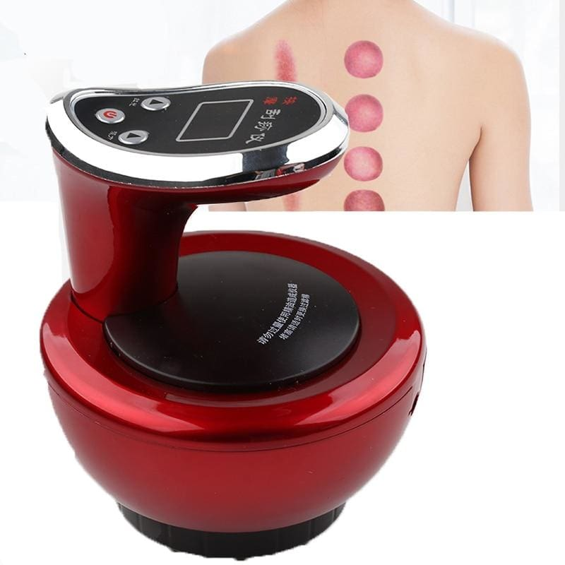 Body Massager Slimming Electric Cupping Stimulate - Type 3 Pink - Massager1