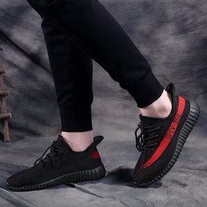 Boost Breathable Shoes Women - Black Red / 4.5 - Mens Casual Shoes