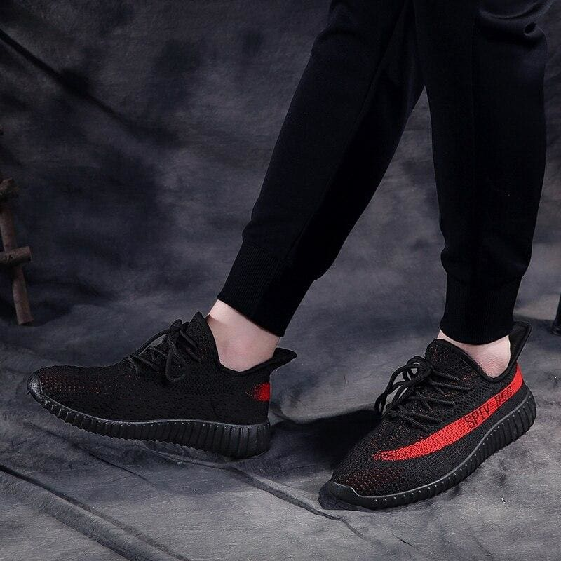Boost Breathable Shoes Women - Black Red / 5 - Mens Casual Shoes