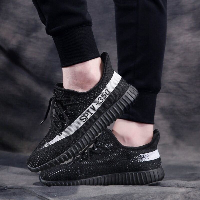 Boost Breathable Shoes Women - Black White / 5.5 - Mens Casual Shoes