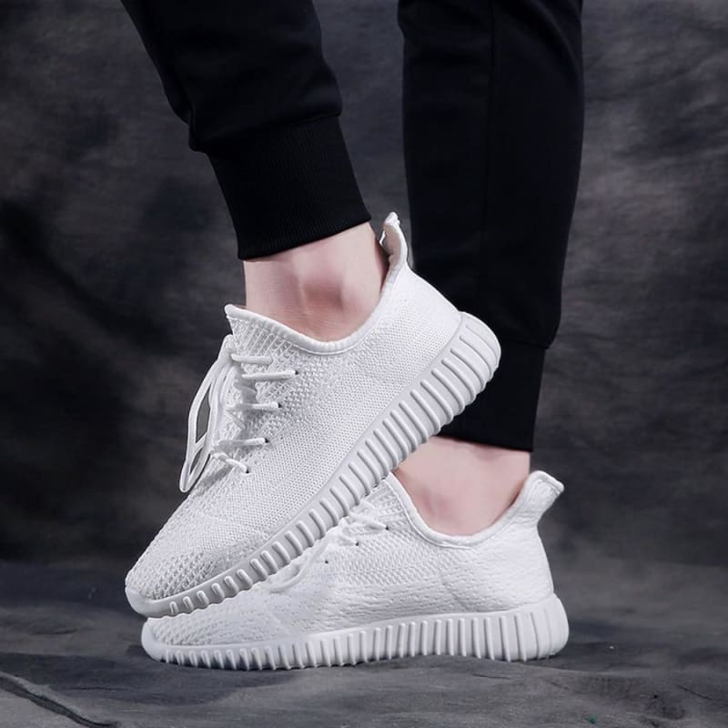 Boost Breathable Shoes Women - White / 4.5 - Mens Casual Shoes