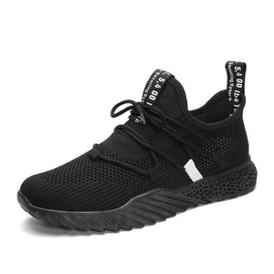 Breathable Mesh Shoes Sneakers - Black / 7 - Shoes Sneakers