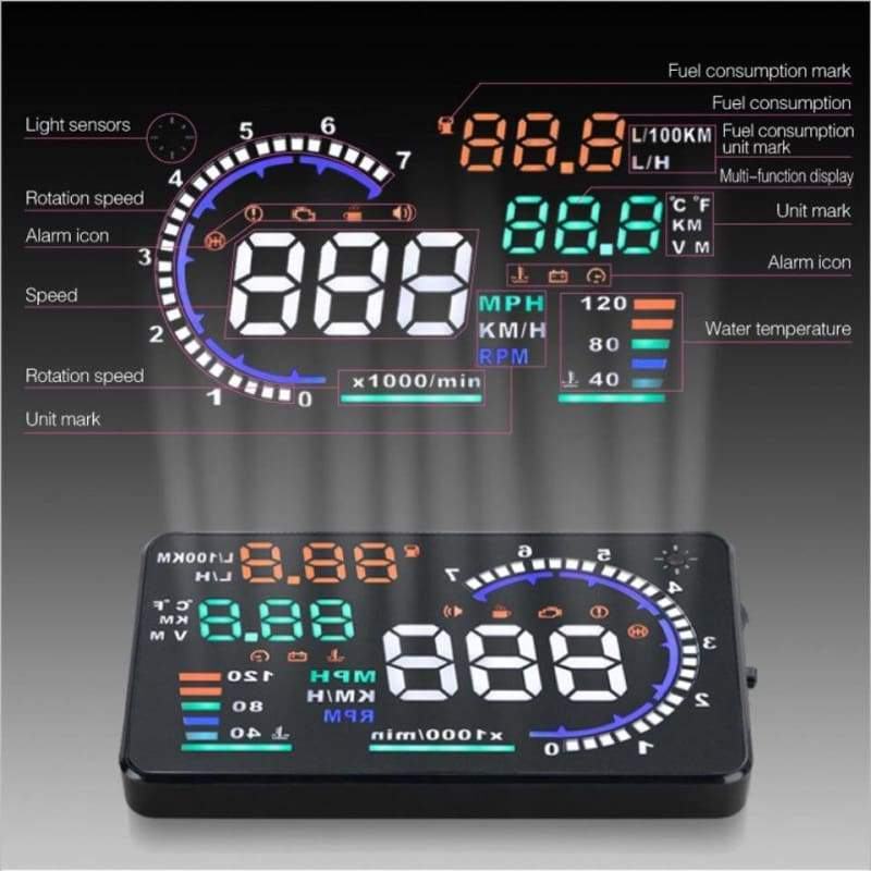 Car Head Up Display Just For You - Car Accessories