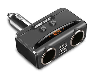 Car USB Cigarette Lighter - Power Adapter
