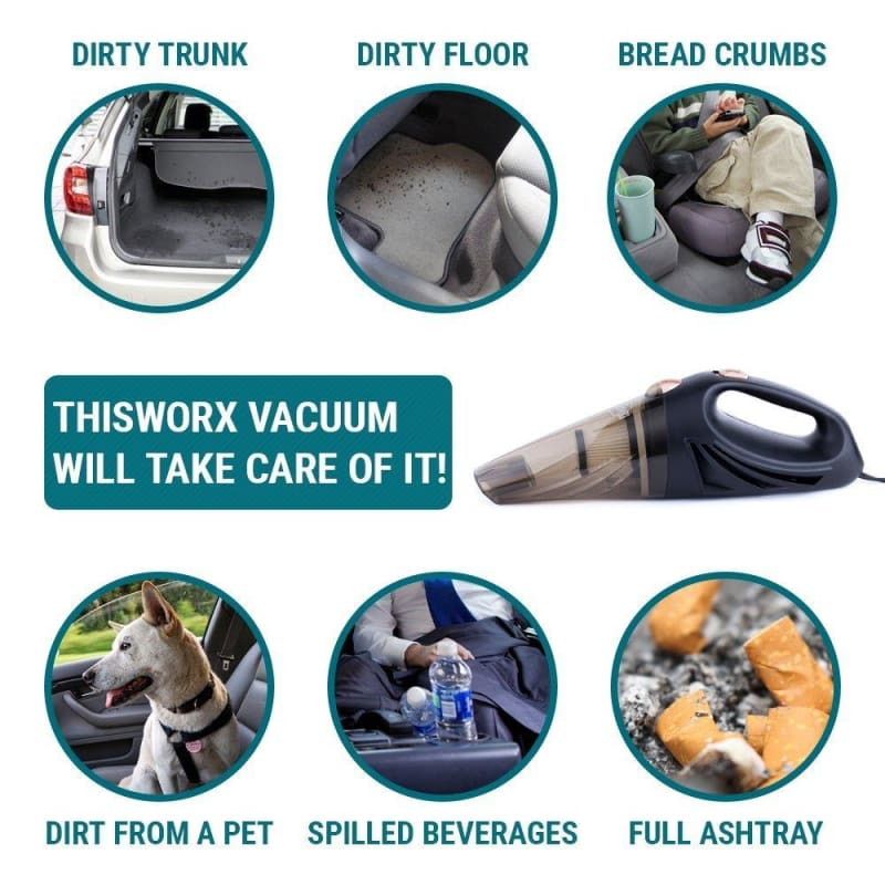 Car Vacuum Cleaner Just For You - Car Accessories