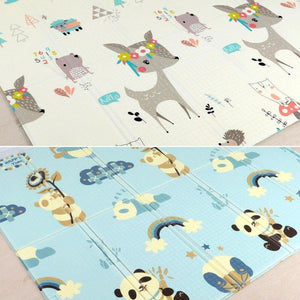 Carpet Children Anti-skid Game Mat - Panada and Deer / 180X200CM 70X78IN - Children Mat