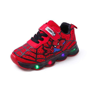 Led Shoes Sneakers  for Girl and Boys , Luminous Sneakers Glowing Lighted Shoes Cartoon Slippers with Light