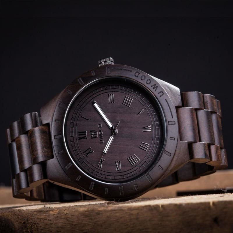 Casual Bamboo Wood Watch - Quartz Watches