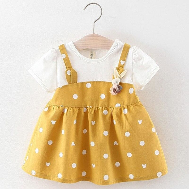 Christmas Baby Dress - AX1043 -yellow / 18M - Dresses