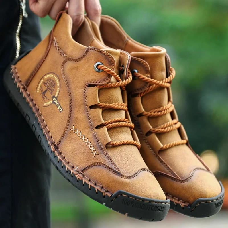 Comfortable Casual Leather Moccasins Shoes - Leather Shoes