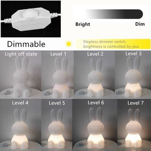 Cute Bunny Rabbit Lamp - LED Night Lights