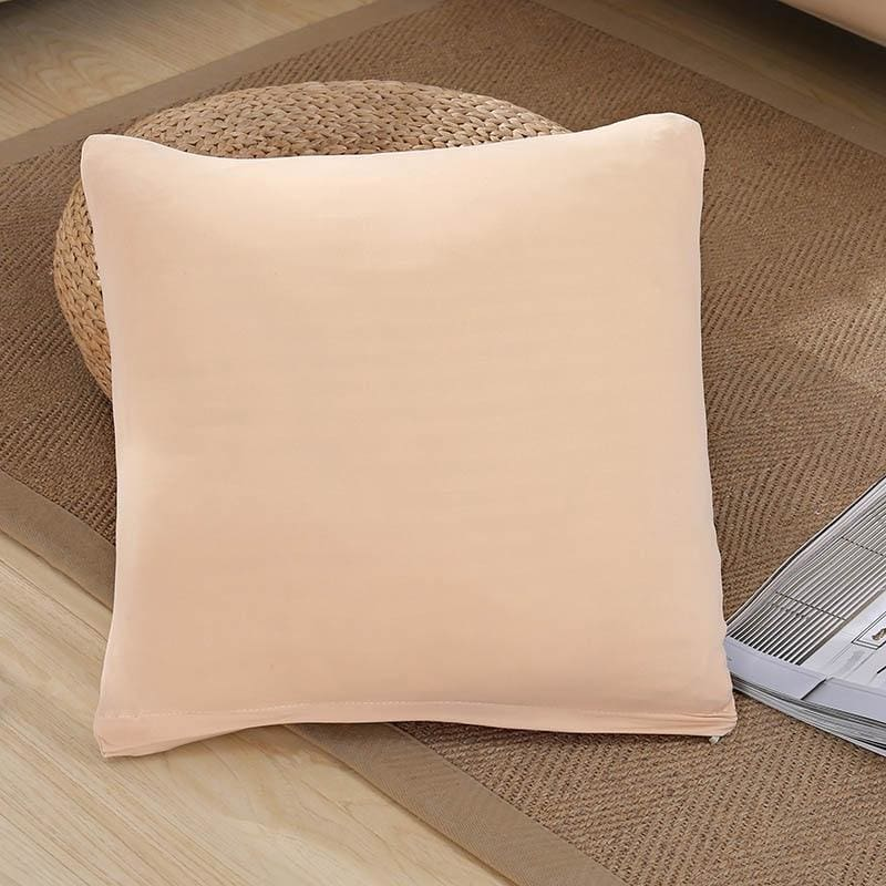 Decorative Square Cushion Covers - 45X45 Cushion cover / Beige - Cushion Cover