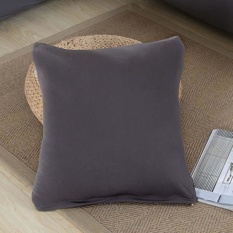 Decorative Square Cushion Covers - 45X45 Cushion cover / Grey - Cushion Cover