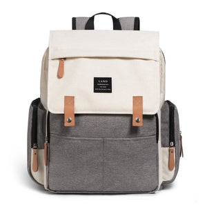 Diaper Bags for Baby Just For You - Gray Beige - Backpacks