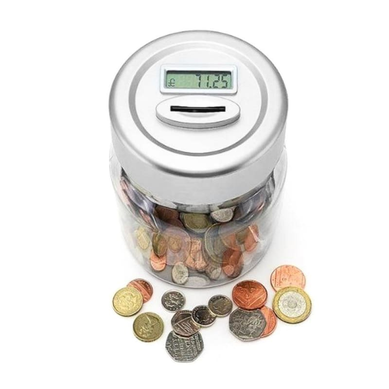 Digital Coin Counting Bank - as in picture - Money Boxes