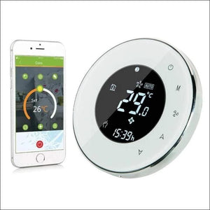 Digital Wifi Smart Thermostat - White - Thermostat