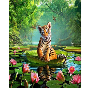 DIY Diamond Painting Full Round 5D Just For You - 10 / 20x30cm - DIY Painting