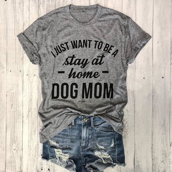 Dog T-shirt For Mom Love It - T-Shirts