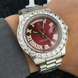 Face diamond watch Just For You - Red 8 - Quartz Watches