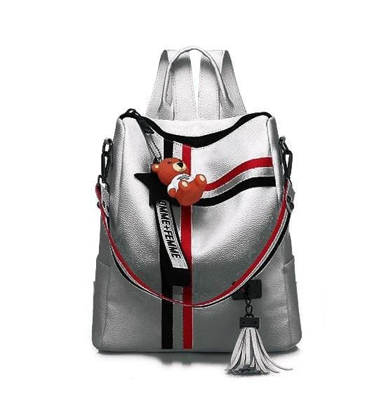 Fashion Retro Backpack Just For You - Silver - Backpacks