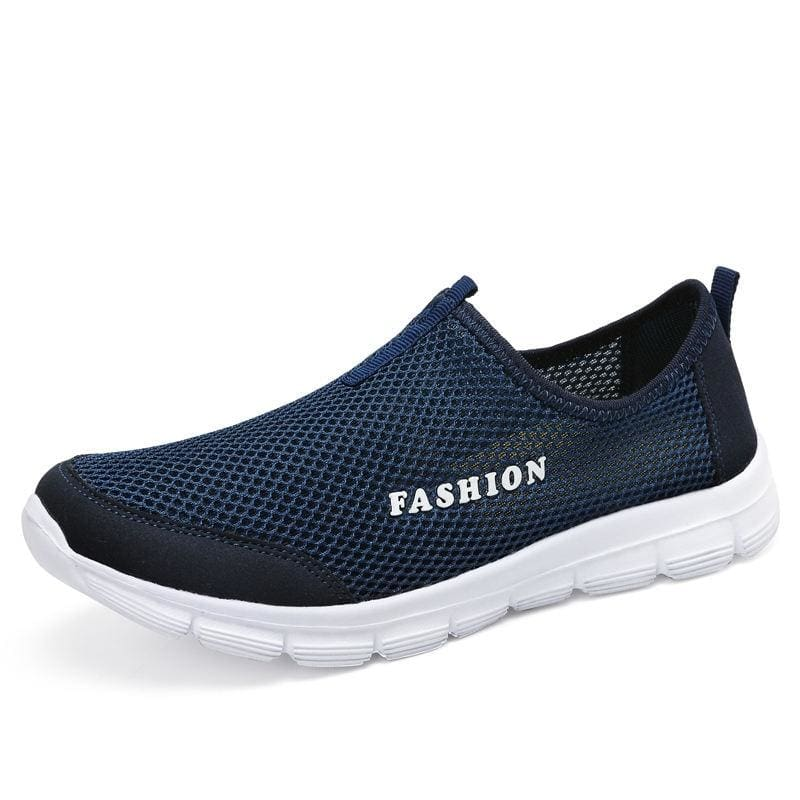 Fashion Summer Shoes - dark blue / 3.5 - Mens Casual Shoes