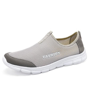 Fashion Summer Shoes - light grey / 3.5 - Mens Casual Shoes