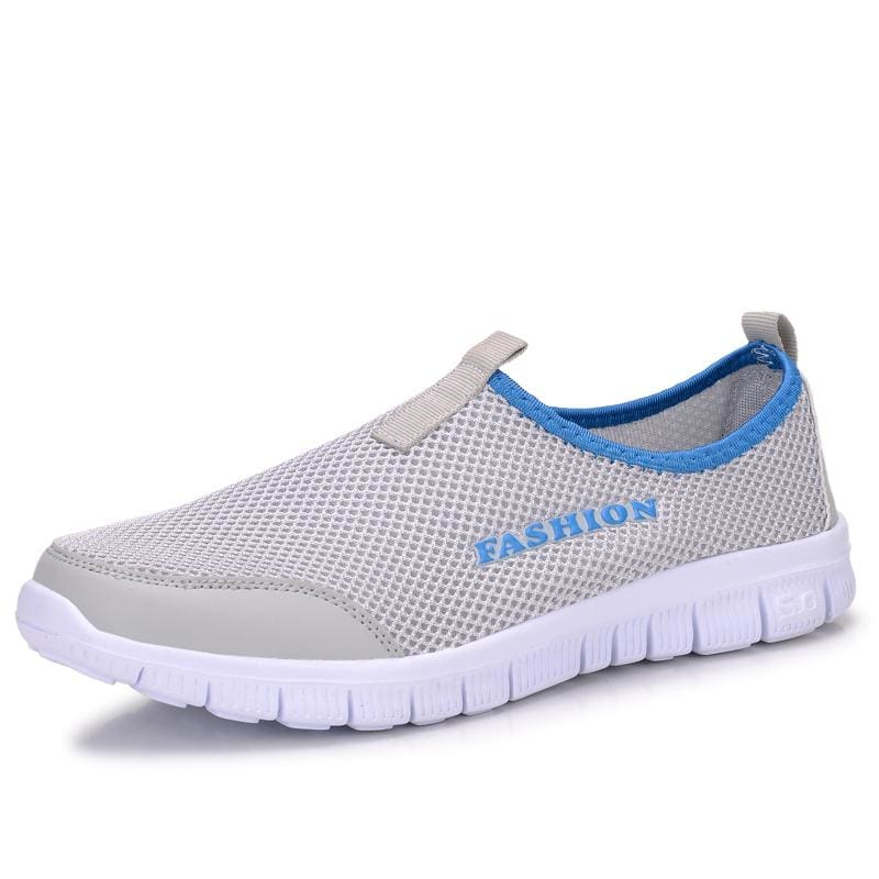Fashion Summer Shoes - SILVER / 3.5 - Mens Casual Shoes