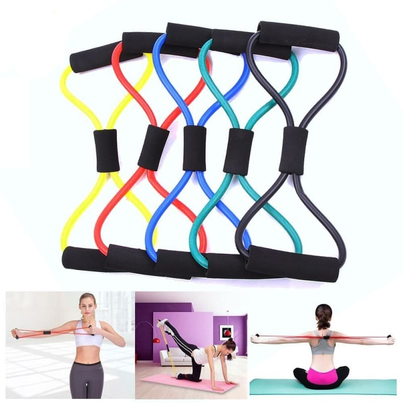 Fitness Elastic Band Just For You - Red - Gym Fitness