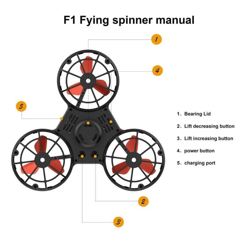 Flying fidget spinner - Fidget Spinner