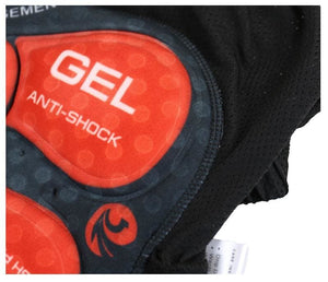 Gel Padded Shockproof bike shorts with padding - Cycling Shorts