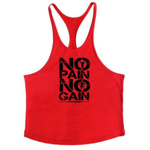 Golds Gym Tank Top Just For You - red175 / M - Tank Tops